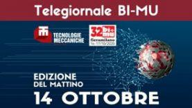 TG BIMU 2020 – Edizione 14 ottobre mattina
